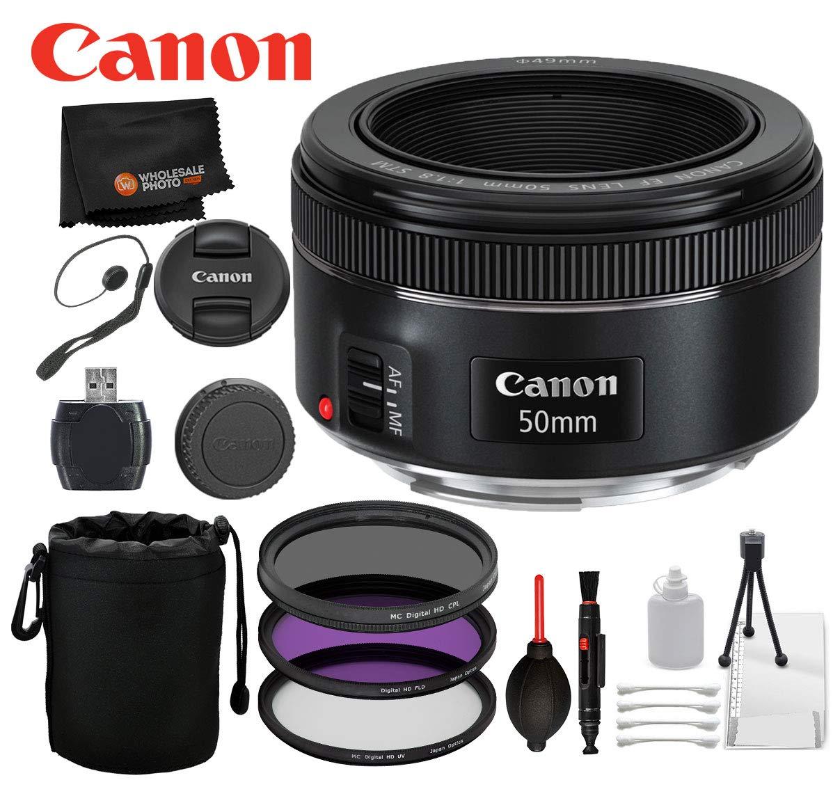 Canon EF 50mm f/1.8 STM Lens w