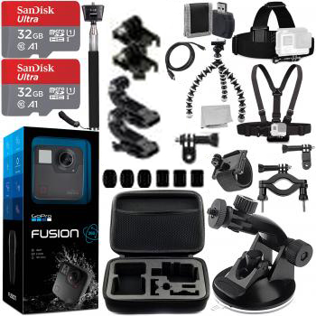 GoPro Fusion With Promotional
