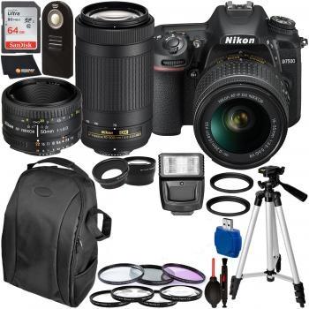 Nikon D7500 DSLR Camera with 1