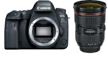 Image of Canon EOS 6D Mark II DSLR Camera With Canon EF 24-70mm F/2.8L II USM Lens