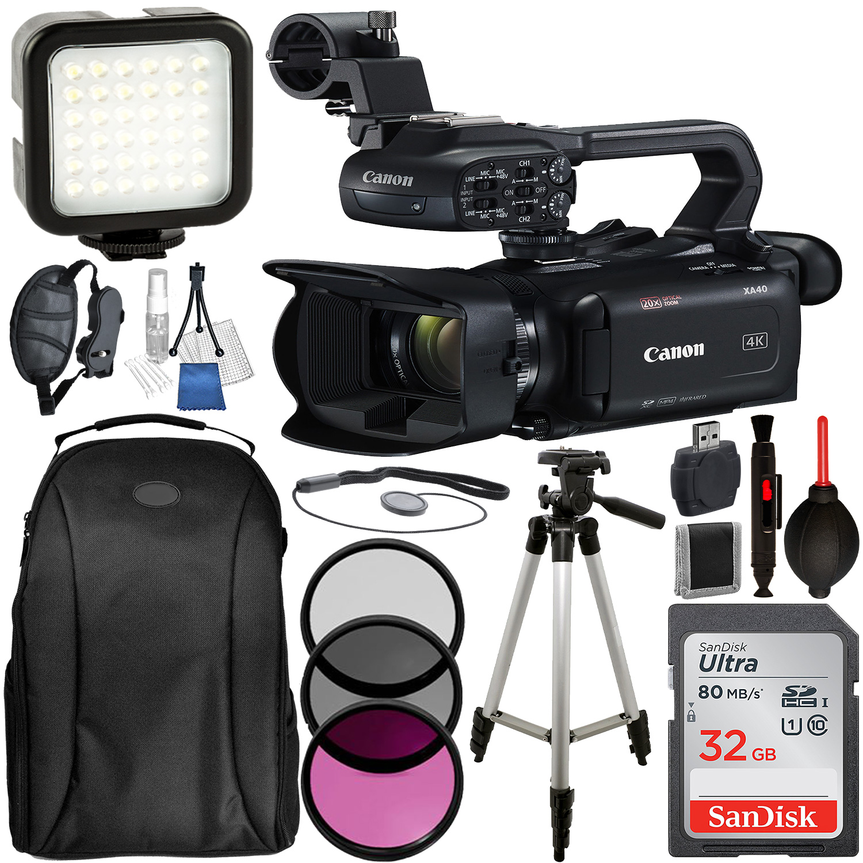 Canon XA40 Professional UHD 4K