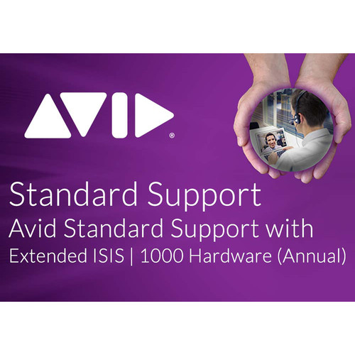 Avid Standard Software Support with Extended Hardware Coverage for NEXIS | PRO 20TB/40TB (Annual)