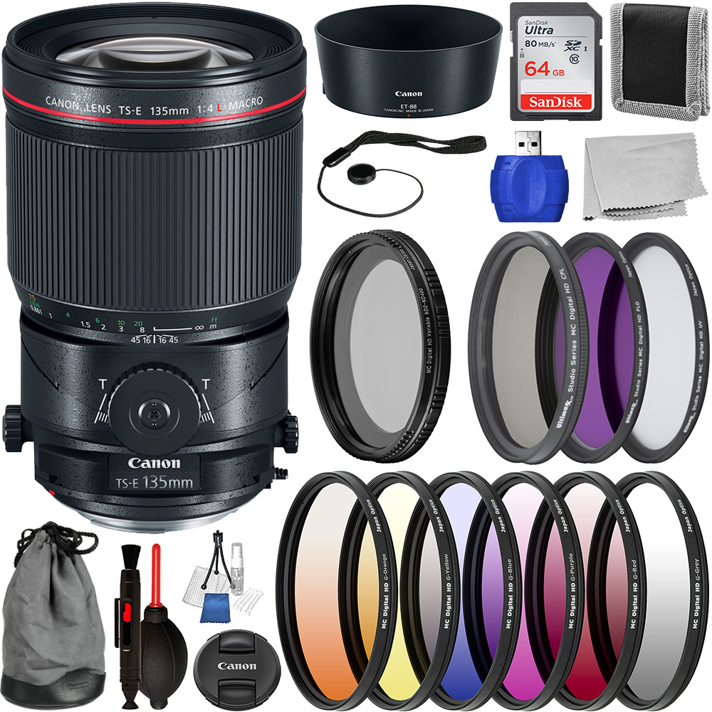 Canon TS-E 135mm f/4L Macro Ti