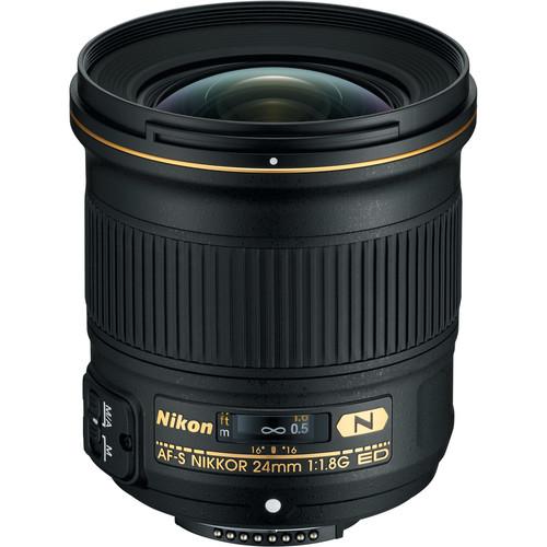 Nikon AF-S NIKKOR 24mm f/1.8G