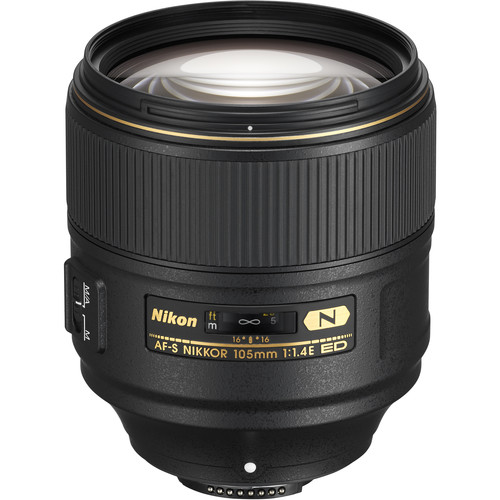 Nikon AF-S NIKKOR 105mm f/1.4E
