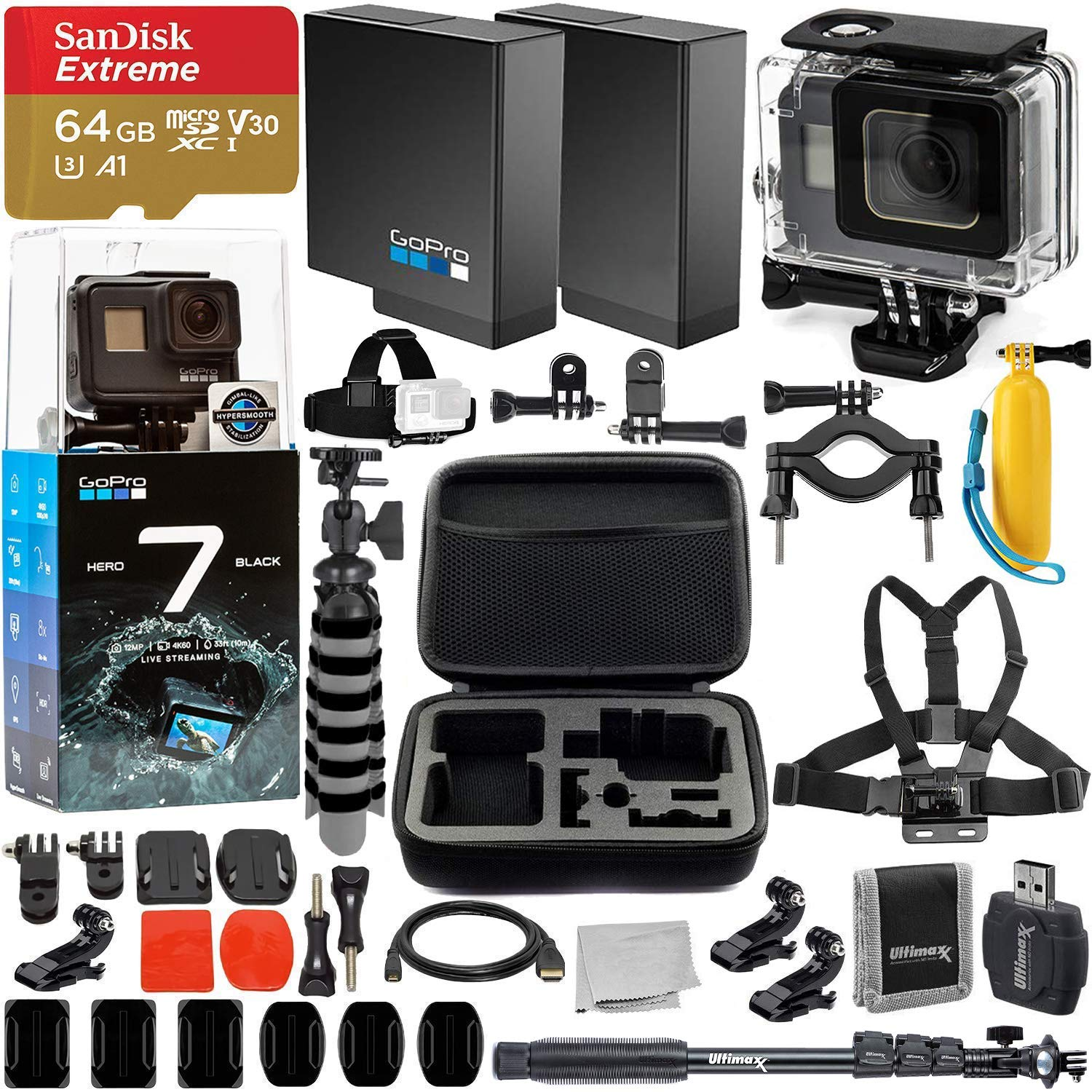 GoPro HERO7 Black Action Camer