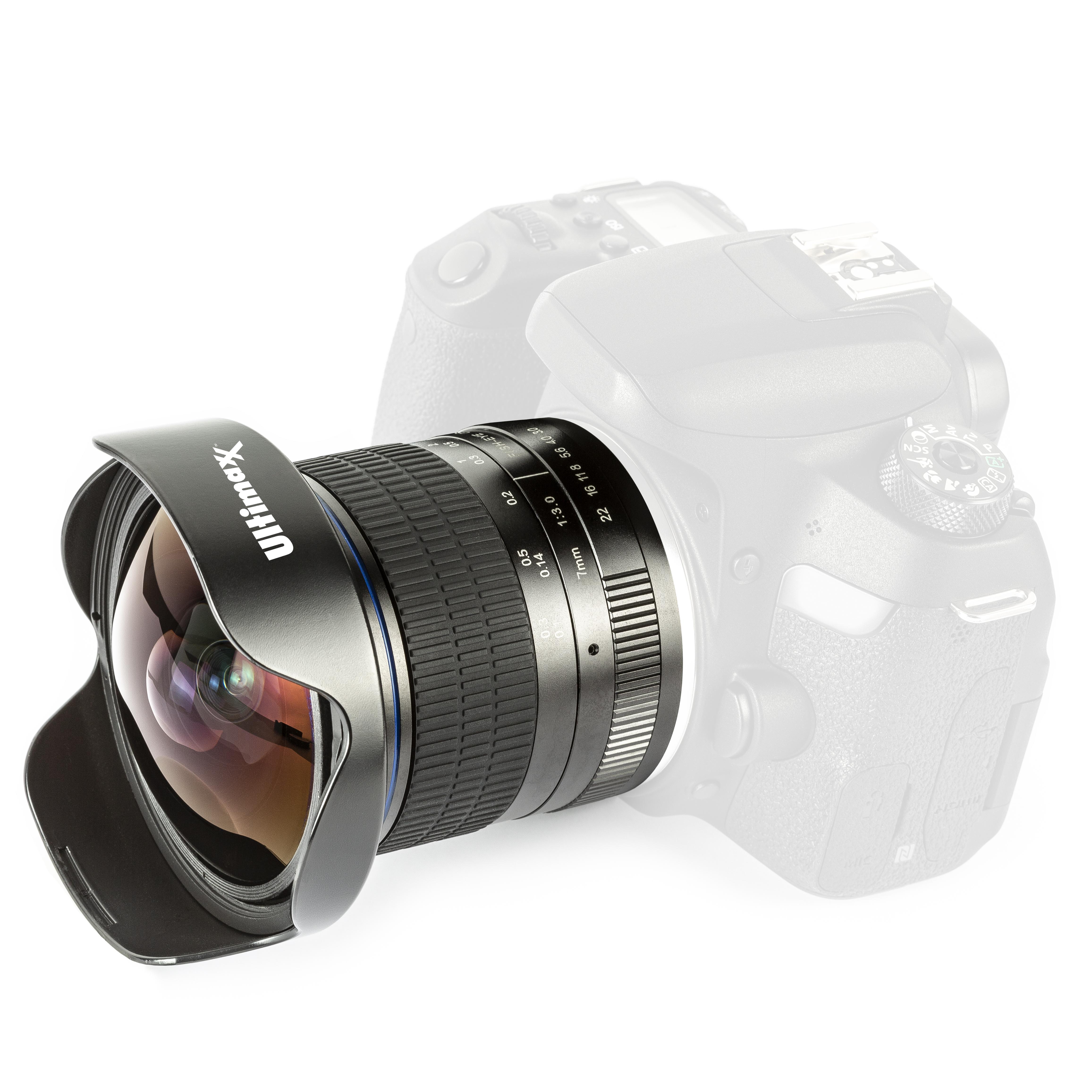 Ultimaxx 7mm F/3.0 Fisheye Len