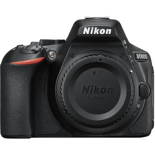 Nikon D5600 DSLR Camera - Body