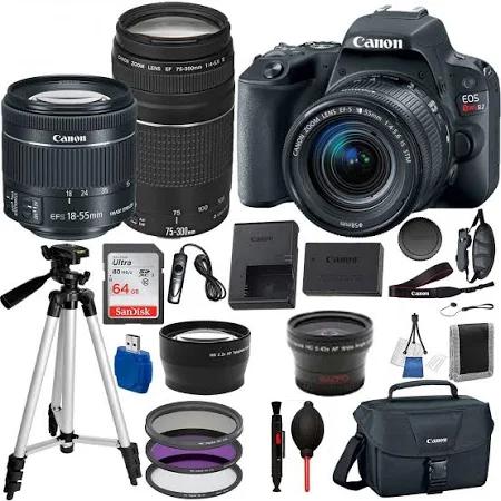 Canon EOS Rebel SL2 DSLR Camer
