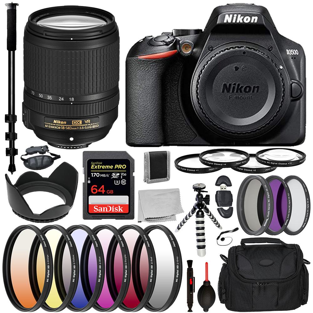 Nikon D3500 DSLR Camera - 1590