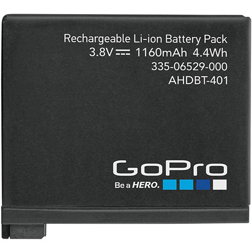 4hr GoPro Rechargeable Battery
