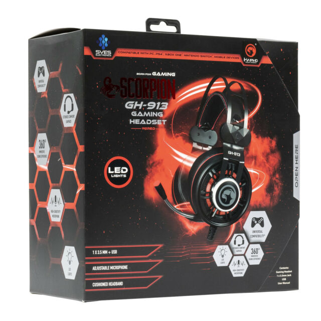 Marvo Scorpion Gaming Headset