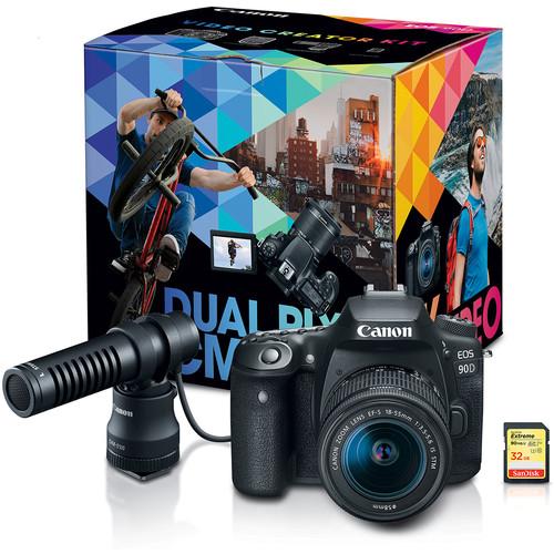 Canon EOS 90D DSLR Camera Vide