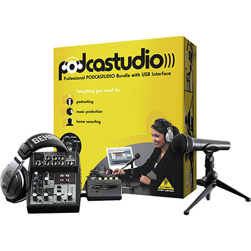 Behringer PODCASTUDIO USB - Co