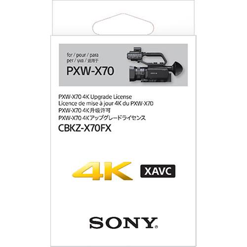 Sony 4K Upgrade License Key f