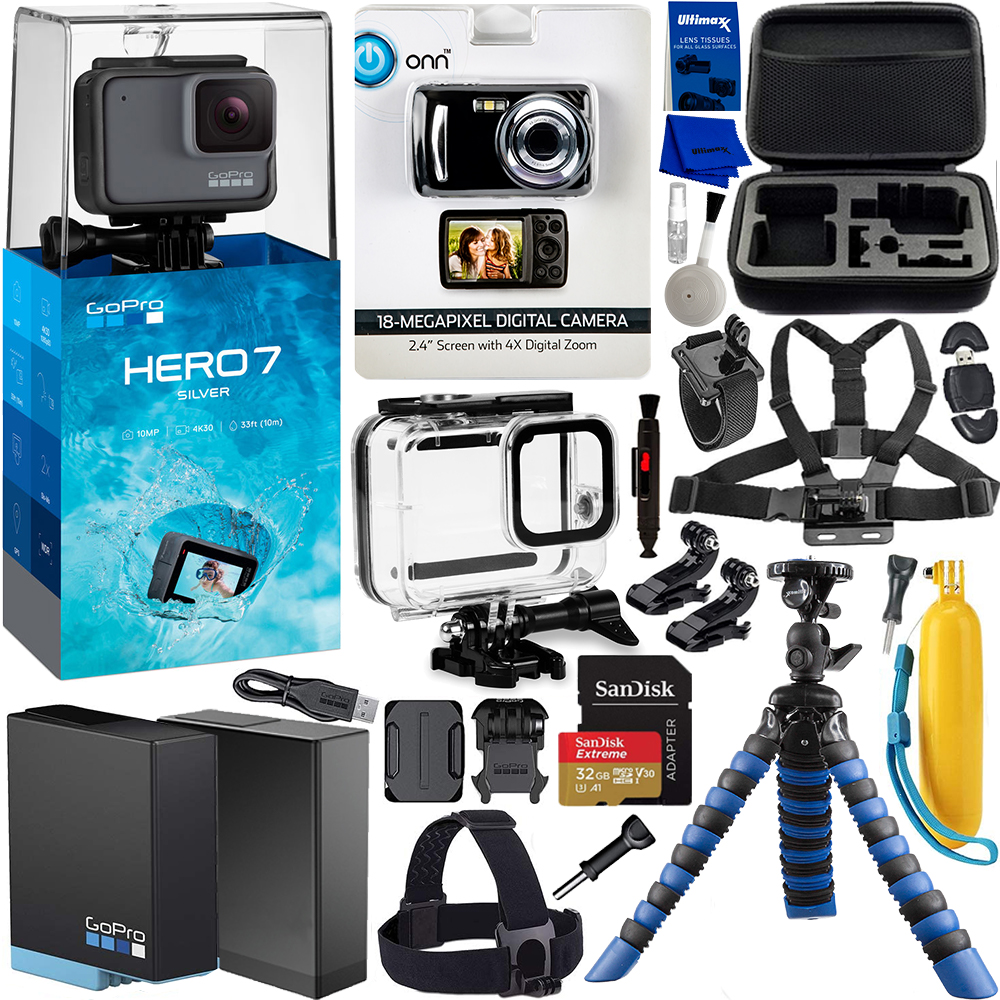 GoPro HERO7 Action Camera (Sil