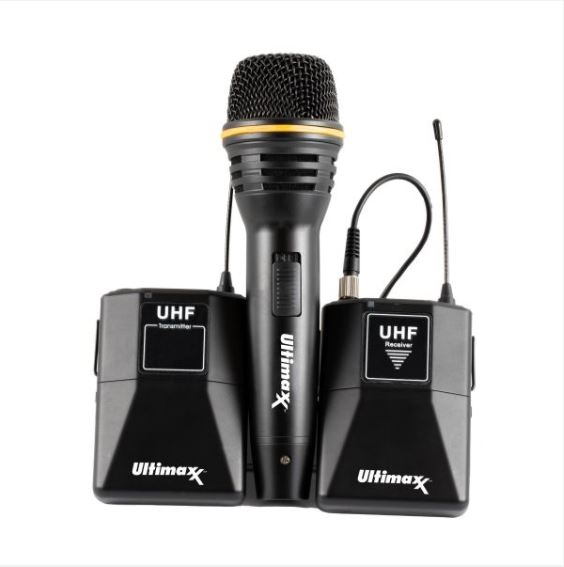 Ultimaxx Wireless Microphone K