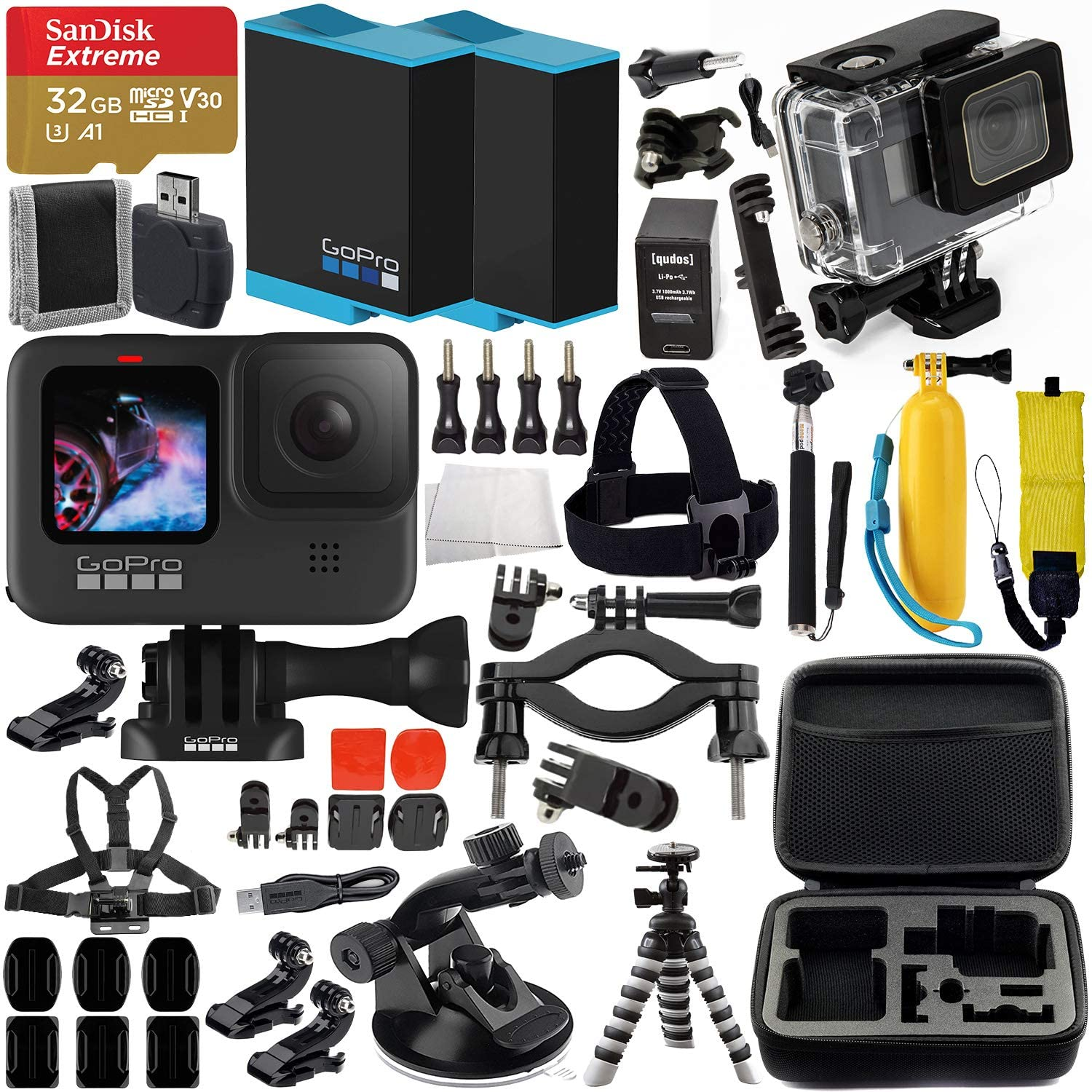 GoPro HERO9 Action Camera (Bla