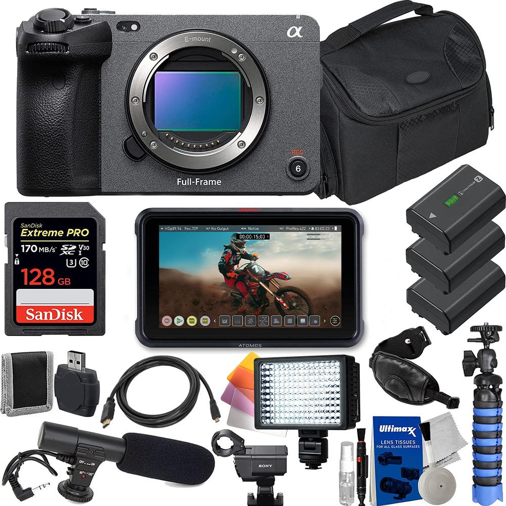 Sony FX3 Full-Frame Cinema Cam