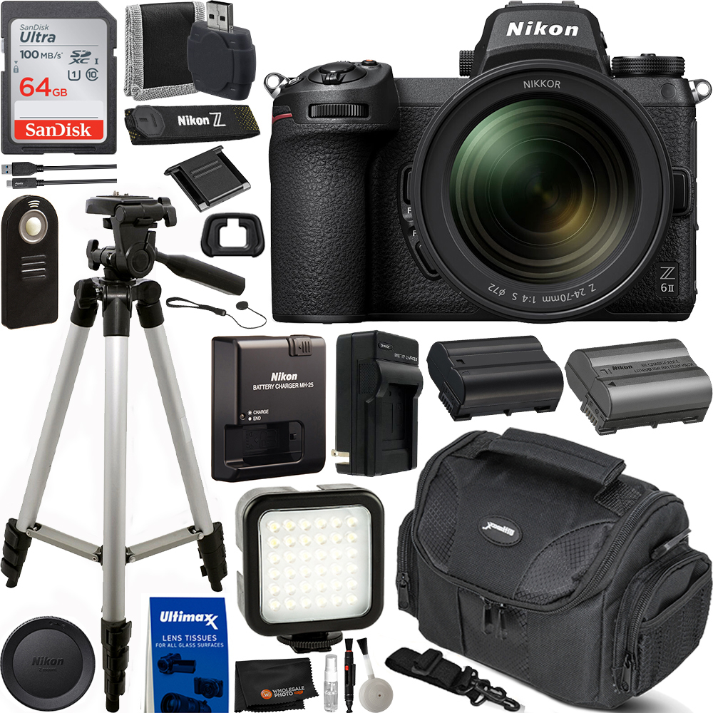 Nikon Z 6II Mirrorless Digital