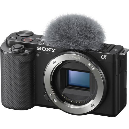 Image of Sony ZV-E10 Mirrorless Camera (Body Only, Black)